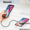 Wireless Charge Lightning Cable
