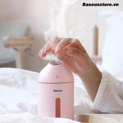 may-phun-suong-tao-am-loc-khong-khi-mini-baseus-cute-mini-air-humidifier-lv087-320ml-usb-5v-xanh
